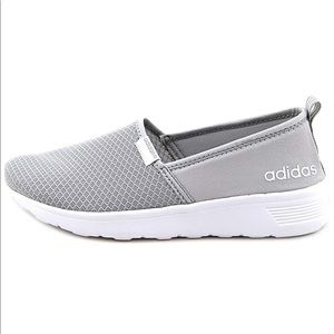 Gray Adidas Memory Foam Slip On Trainers